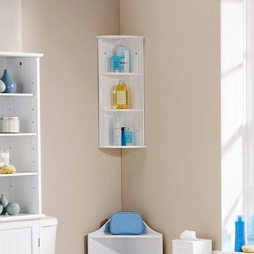 homestead living arcade wall mounted bathroom shelving. Black Bedroom Furniture Sets. Home Design Ideas