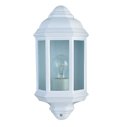 House Additions Outdoor and Porch 1 Light Flush Wall Light