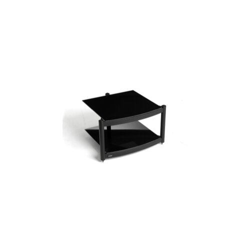 House Additions Coombe Hi Fi Celebration LE Rack with Two Shelves in Gloss Black