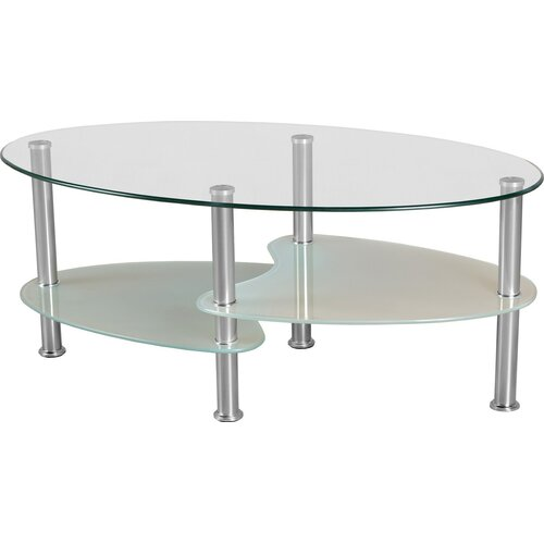 Oval Wood Coffee Table Canada: Home & Haus Shalcomb Coffee Table & Reviews