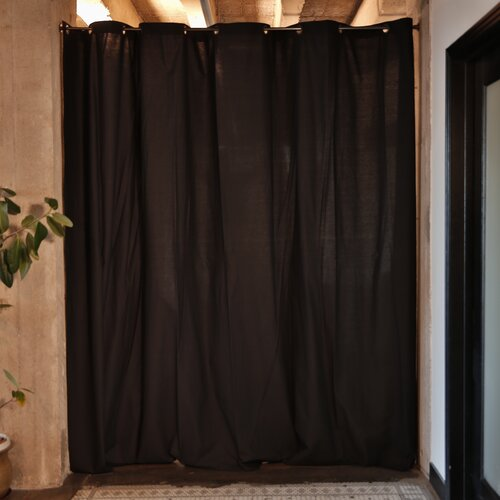 RoomDividersNow 108 H X 120 W Fabric Room Divider Curtain Panel