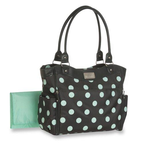 Carter's Polka Dot Front Down Changer Diaper Bag