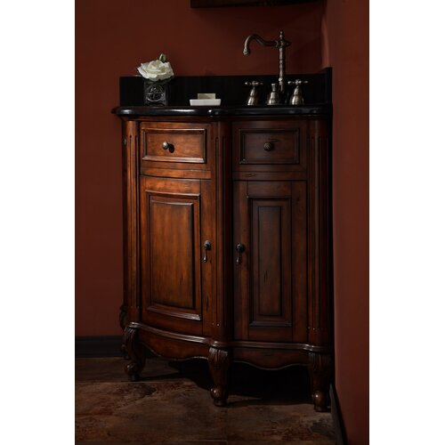 ryvyr manor 37 single corner bathroom vanity cabinet set
