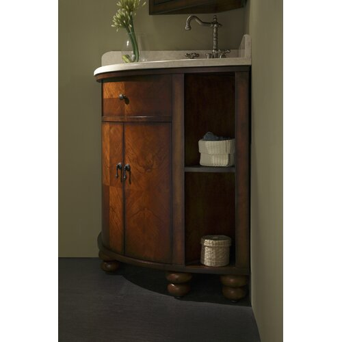 Bathroom Corner Sink Vanity : ... Carlton 38