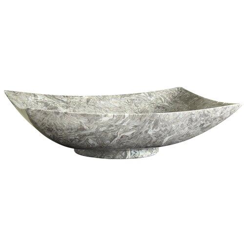 Marble Vessel : Rectangular Marble Vessel Bathroom Sink Wayfair