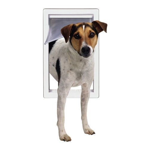 Perfect Pet by Ideal Small Pet Door with Telescoping Frame