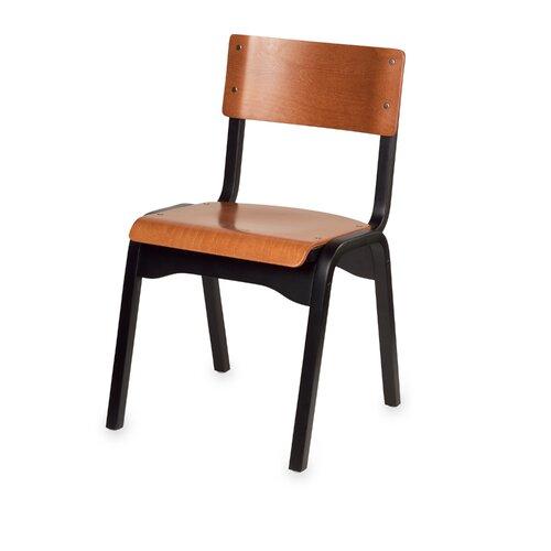 Carlo Stacking Classroom Chair in Beachwood