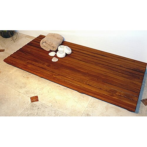 teak shower floor tiles