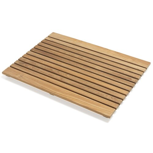Le Spa Rectangle Teak Shower Mat