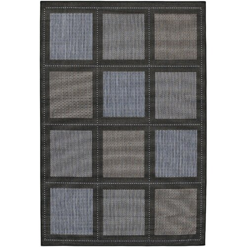 Couristan Recife Summit Blue/Black Indoor/Outdoor Rug