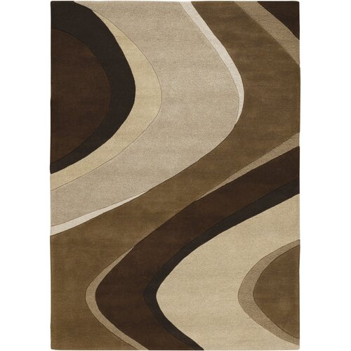 Super Indo-Colors Gobi Chocolate/Tan Rug