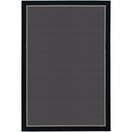 Couristan Tides Freeport Black - Taupe Indoor/Outdoor Rug