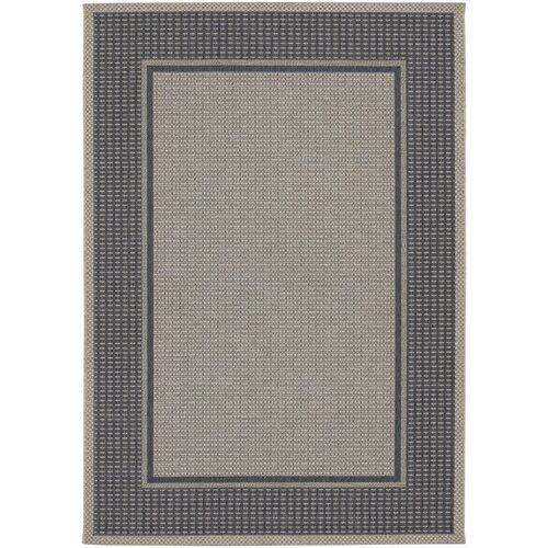 Couristan Tides Astoria Charcoal/Grey Indoor/Outdoor Rug