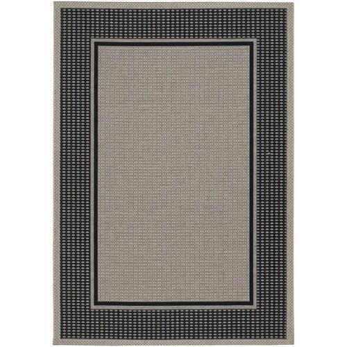Tides Astoria Black/Grey Indoor/Outdoor Rug