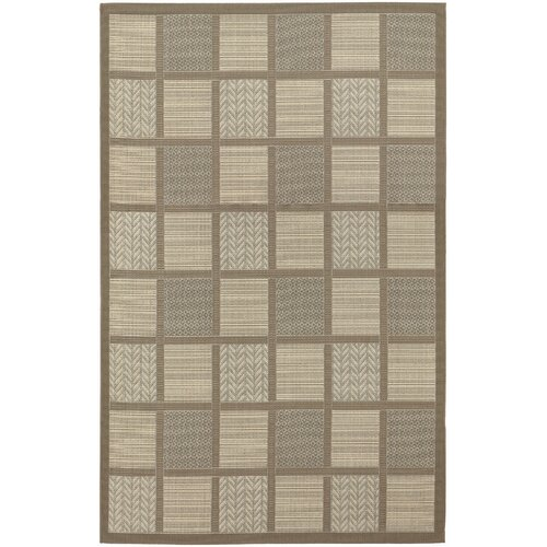 Couristan Five Seasons Cream Acadia Indoor/Outdoor Rug