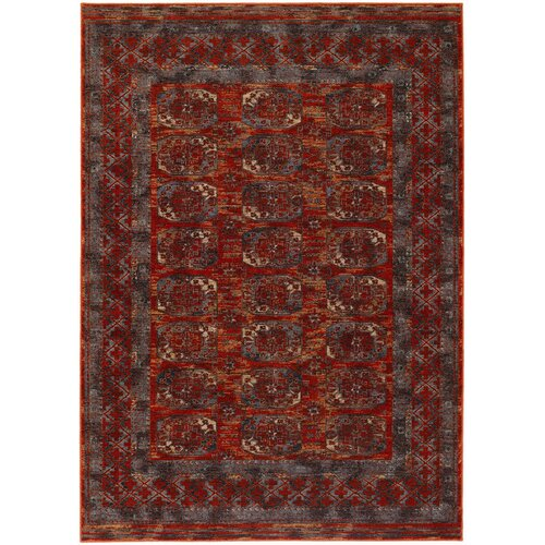 Couristan Timeless Treasures Rust Afghan Panel Area Rug