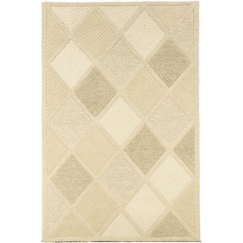Super Indo-Natural Astra/White Rug