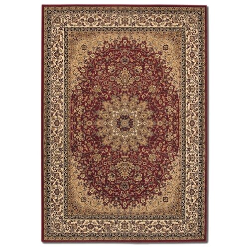 Couristan Izmir Royal Kashan Persian Red Rug