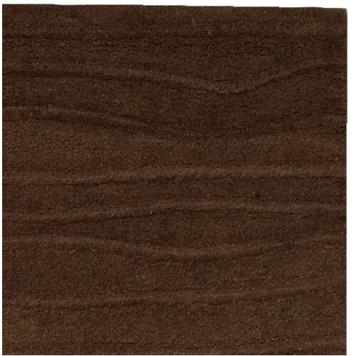 Couristan Vinyasa Halcyon Chocolate Solid Rug
