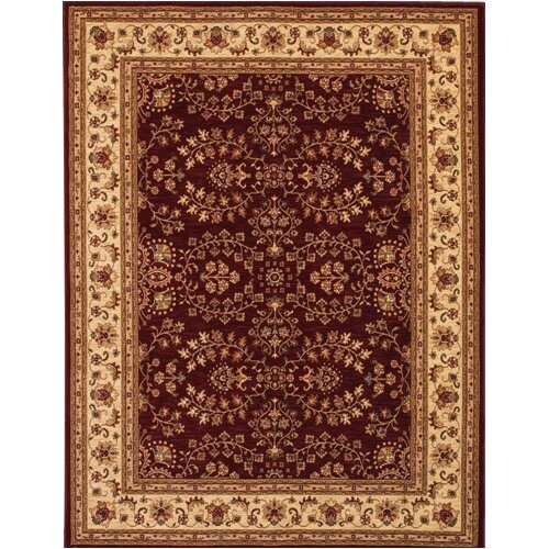 Couristan Anatolia Antique Herati Red Rug