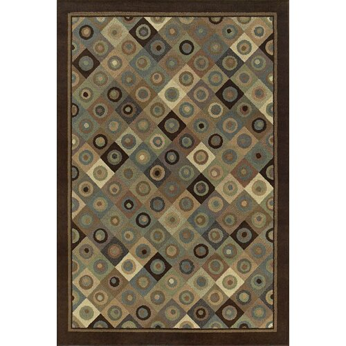 Shaw Rugs Concepts Broadway Brown/Blue Rug