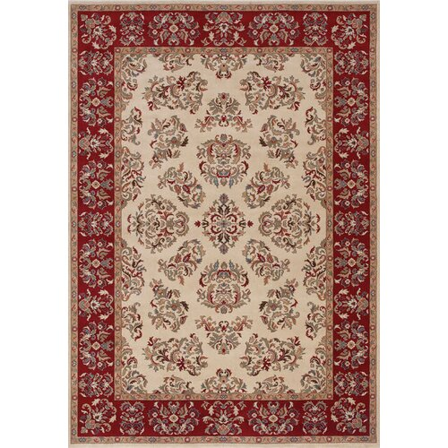 Shaw Rugs Inspired Design Alyssa Beige/Red Rug