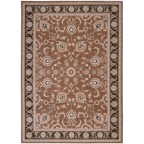 Shaw Rugs Arabesque Coventry Polished Copper Rug