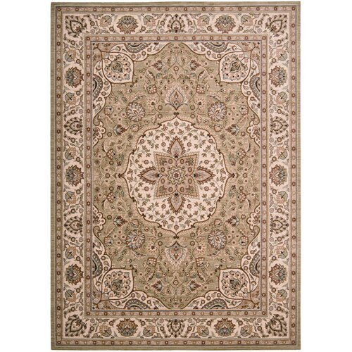 Shaw Rugs Arabesque Easton Pale Leaf Rug