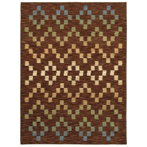 Shaw Rugs Mirabella Santa Cruz Brown Multi Rug