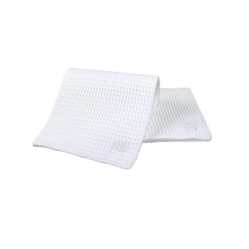 "MU Kitchen MUmodern 12"" Waffle Dishcloth in White"