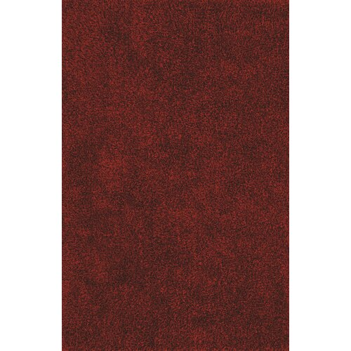 Illusions Red Shag Rug