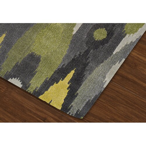 Dalyn Rug Co Grand Tour Green Grey Ikat Area Rug