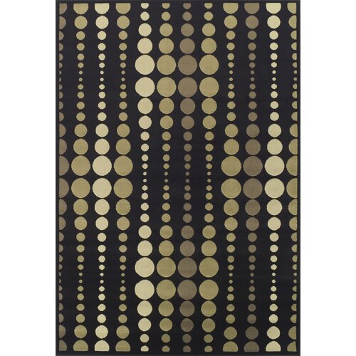 Dalyn Rug Co. Carlisle Black Geometric Rug