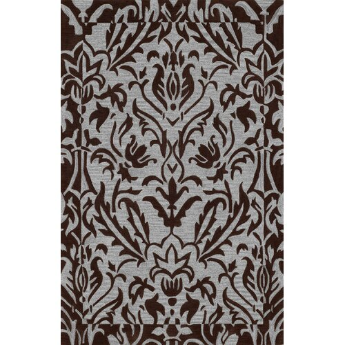 Dalyn Rug Co. Studio Chocolate Floral Rug