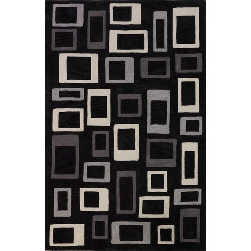 Dalyn Rug Co. Studio Black Geometric Area Rug