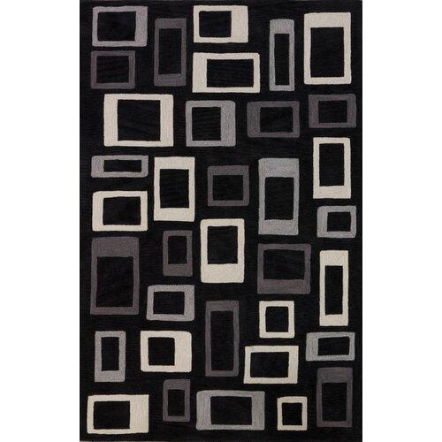 Dalyn Rug Co. Studio Black Geometric Rug