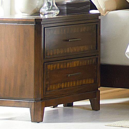 Avion 2 Drawer Nightstand