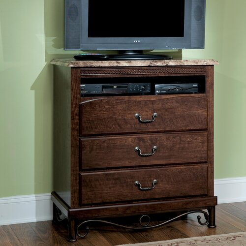 Santa Cruz 3 Drawer Media Chest