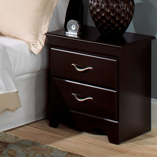 Standard Furniture Crossroads Standard 2 Drawer Nightstand