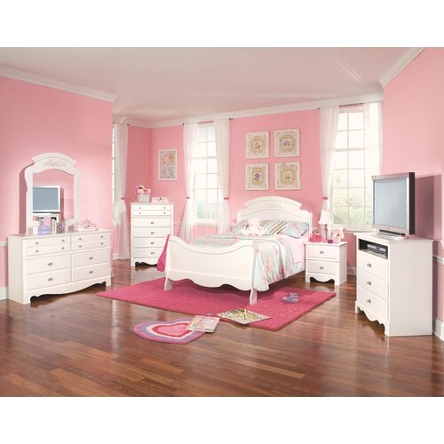 Standard Furniture Spring Rose 2 Drawer Nightstand