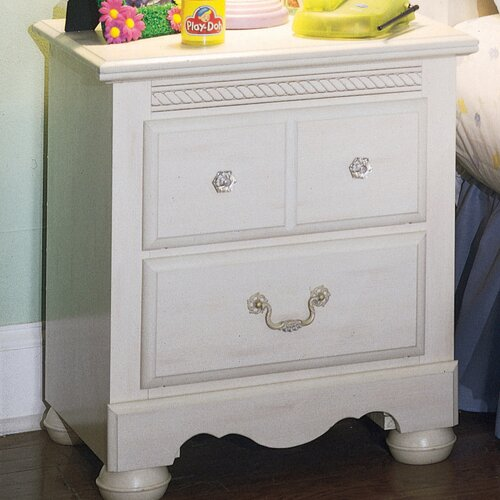 Diana 2 Drawer Nightstand