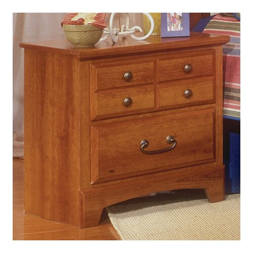 City Park 2 Drawer Nightstand