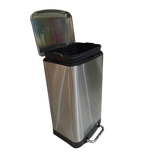 30 liter rectangular trash can wayfair - Rectangular garbage cans ...
