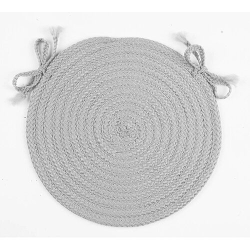 Twilight Round Braided Chair Pad