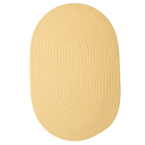 Boca Raton Pale Banana Outdoor Rug