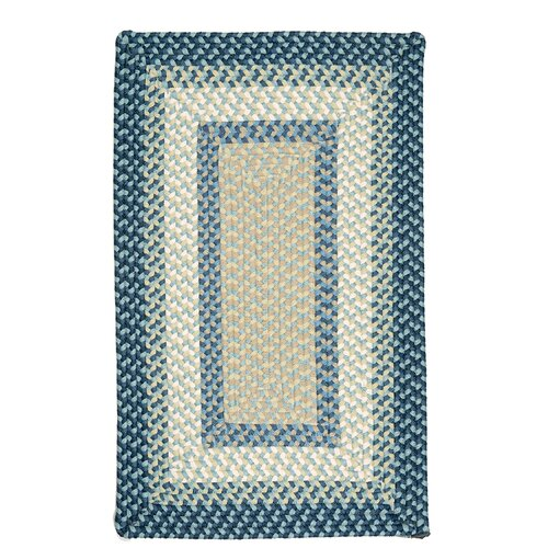 Colonial Mills Montego Blue Burst Kids Rug
