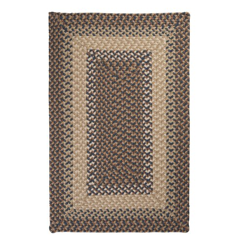 Colonial Mills Tiburon Stone Blue Braided Indoor/Outdoor Rug