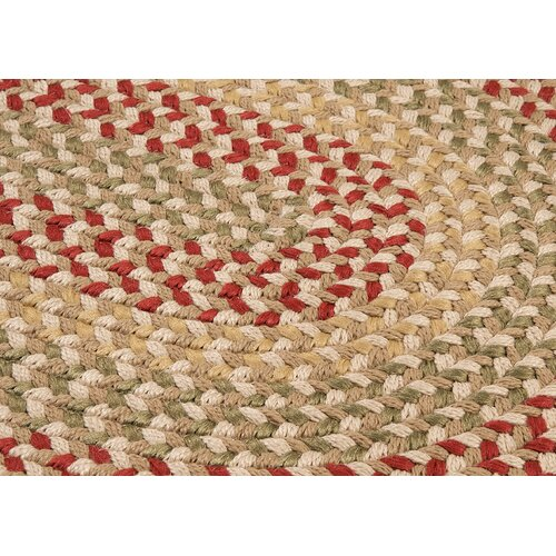 Colonial Mills Brook Farm Tea Stained Indoor/Outdoor Rug