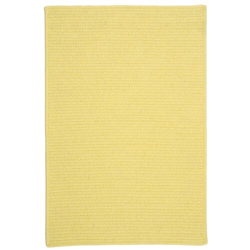 Courtyard Yellow Rug