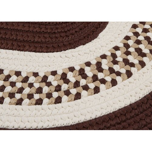 Colonial Mills Flowers Bay Brown Rug